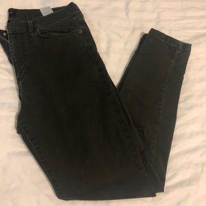 Banana Republic Skinny Dark Green Jean size 29/8